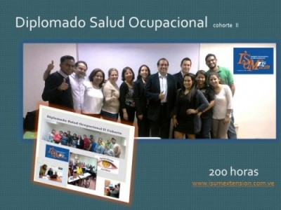 Diplomado Salud Ocupacional  cohorte  II ..