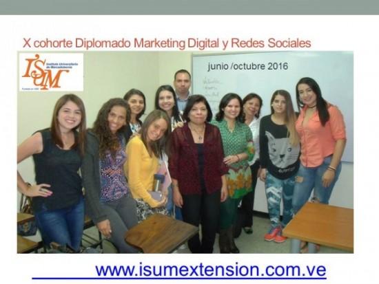 X cohorte Diplomado Marketing Digital y Redes Sociales